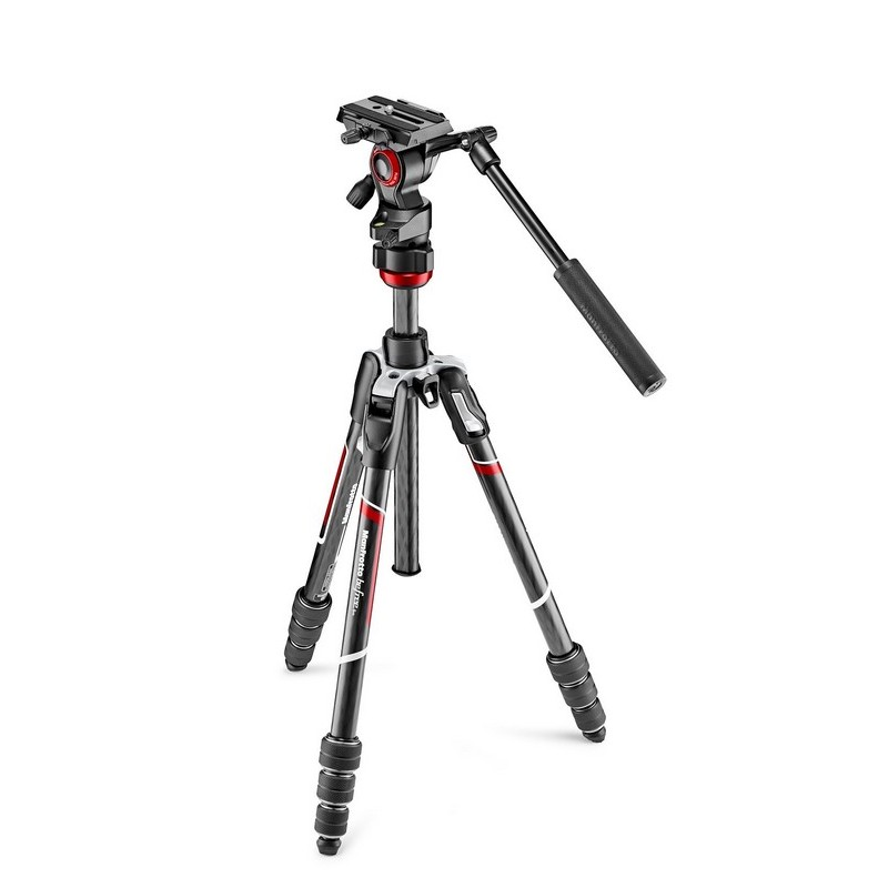 Manfrotto BeFree LIVE stativ sa video glavom (twist) ADVANCED - Karbon -