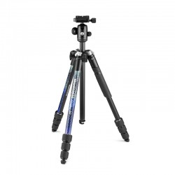 Manfrotto Element MII stativ + kugla glava PLAVI