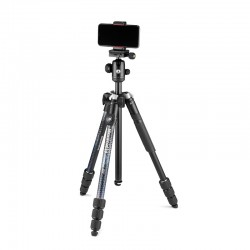 Manfrotto Element MII stativ MobBT CRNI + Smart Clamp + Bluetooth remote control