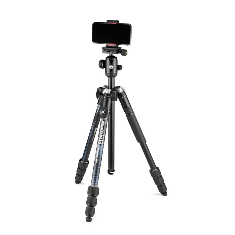 Manfrotto Element MII stativ MobBT (karbon) + Smart Clamp + Bluetooth remote control