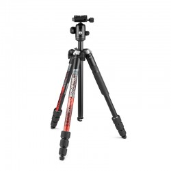 Manfrotto Element MII stativ + kugla glava CRVENI