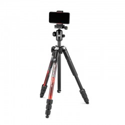 Manfrotto Element MII stativ MobBT CRVENI + Smart Clamp + Bluetooth remote control