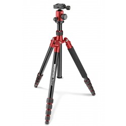 Manfrotto Element Traveller stativ + kugla glava BIG, Red