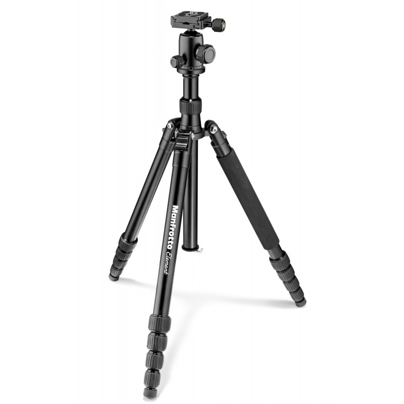 Manfrotto Element Traveller stativ + kugla glava BIG, Black