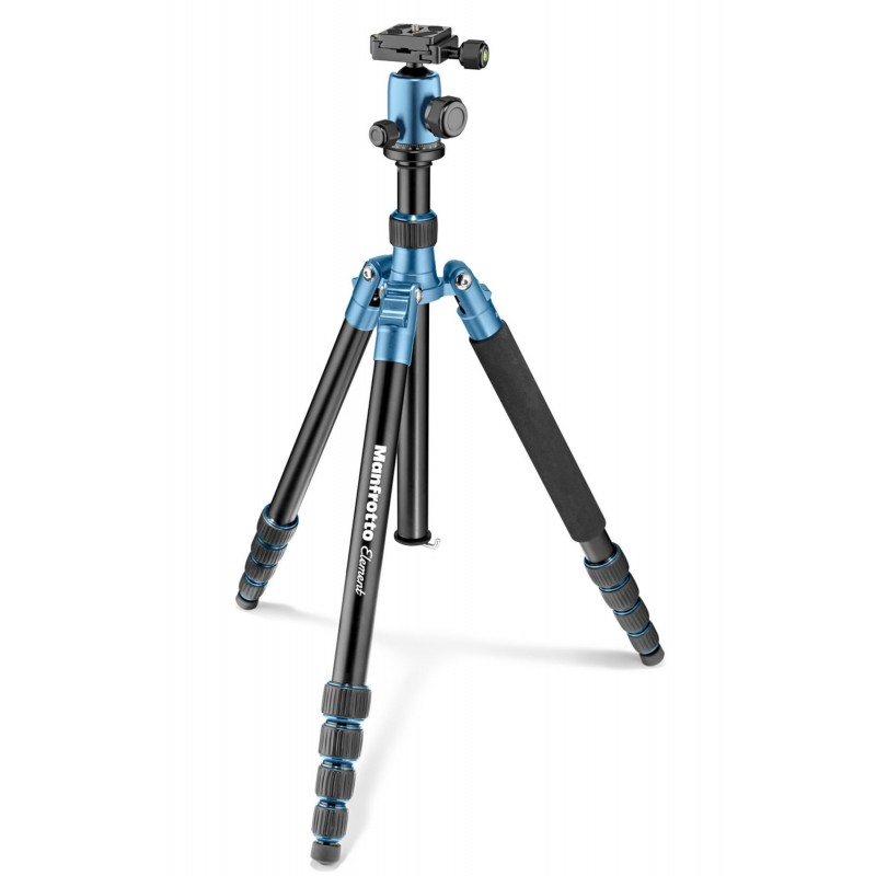 Manfrotto Element Traveller stativ + kugla glava BIG, Blue