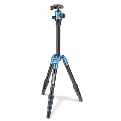 Manfrotto Element Traveller stativ + kugla glava SMALL, Blue