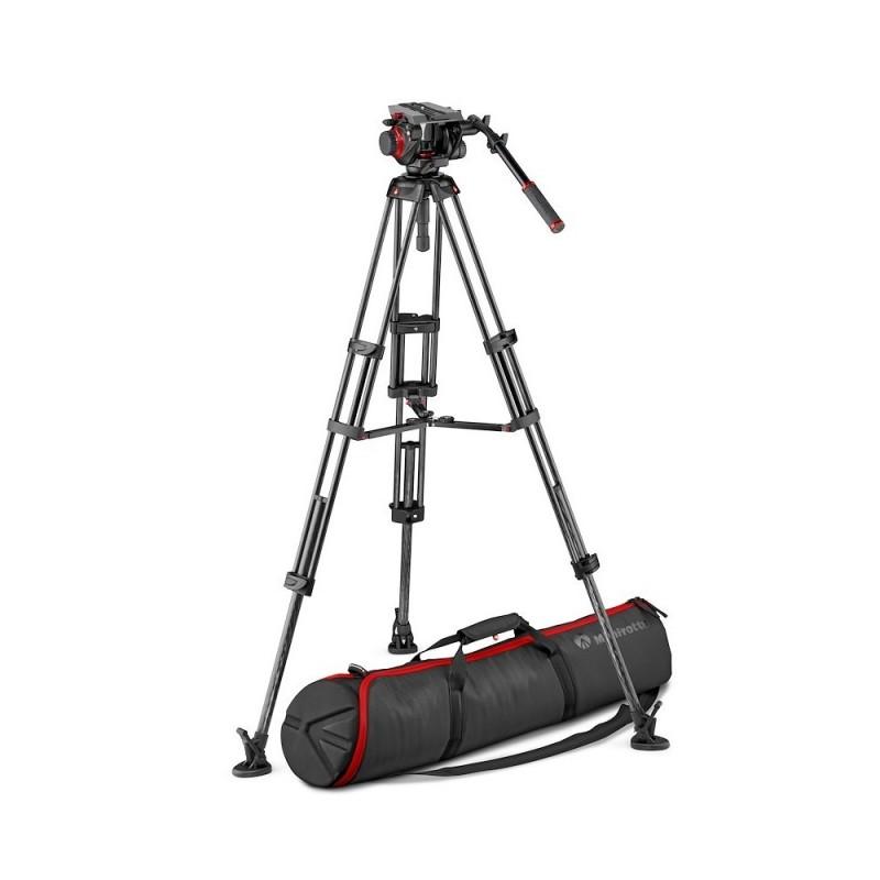Manfrotto MVK504TWINMC karbonski video stativ set sa 504 video glavom /srednji pauk