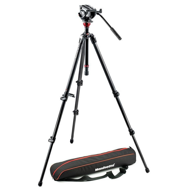 Manfrotto MVT755CX3, MVH500AH Video stativ set / karbon
