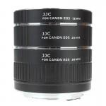 JJC AET-CS AF makro međuprstenovi SET (12,20,36mm) Canon EOS