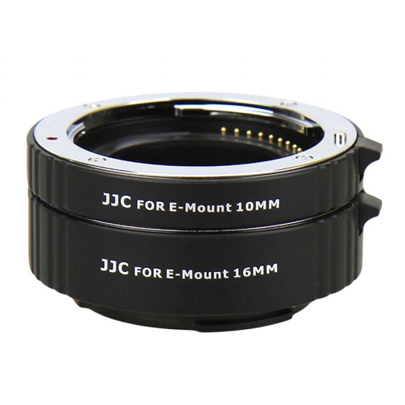 JJC AET-NEXS  AF makro međuprstenovi SET (10 i 16 mm) NEX Sony E