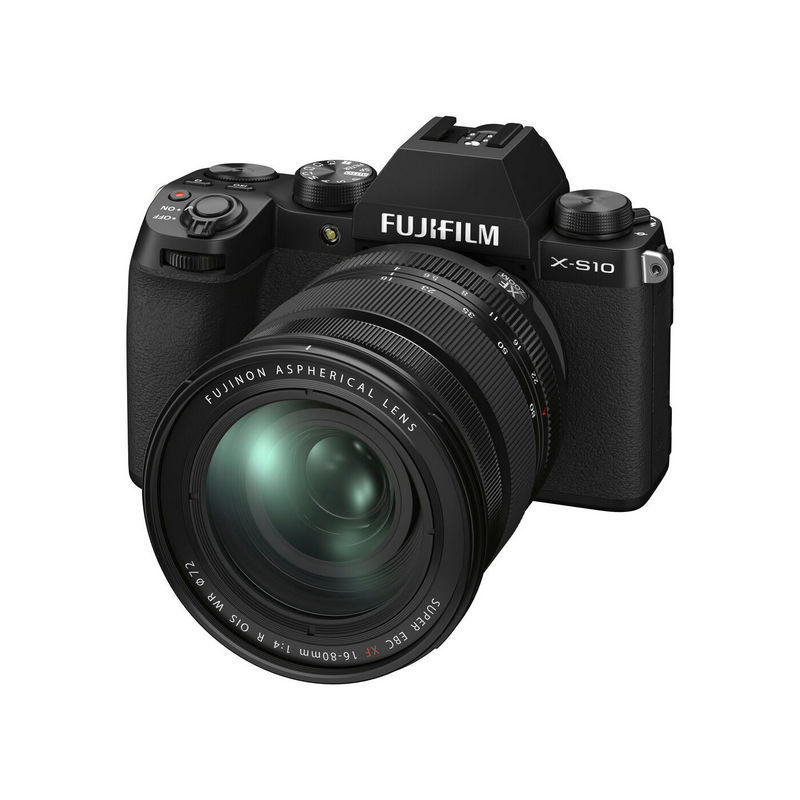 Fujifilm X-S10 Black kit s XF 16-80mm f/4R OIS WR