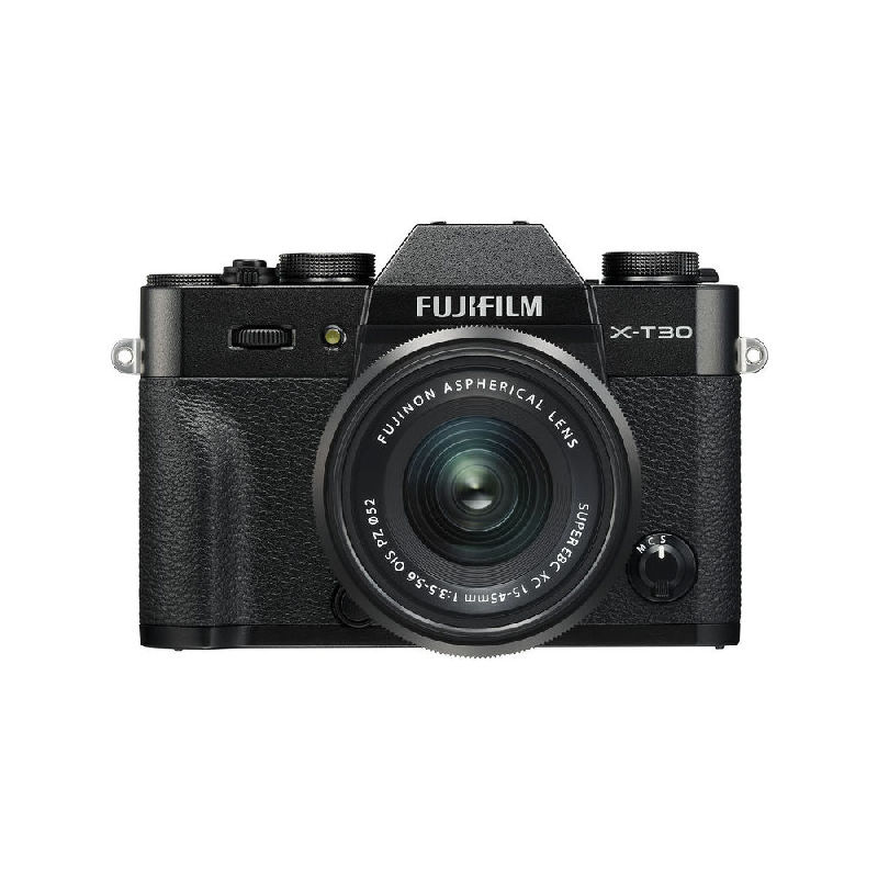 Fujifilm X-T30 Black kit s XC 15-45mm f/3.5-5.6 OIS PZ