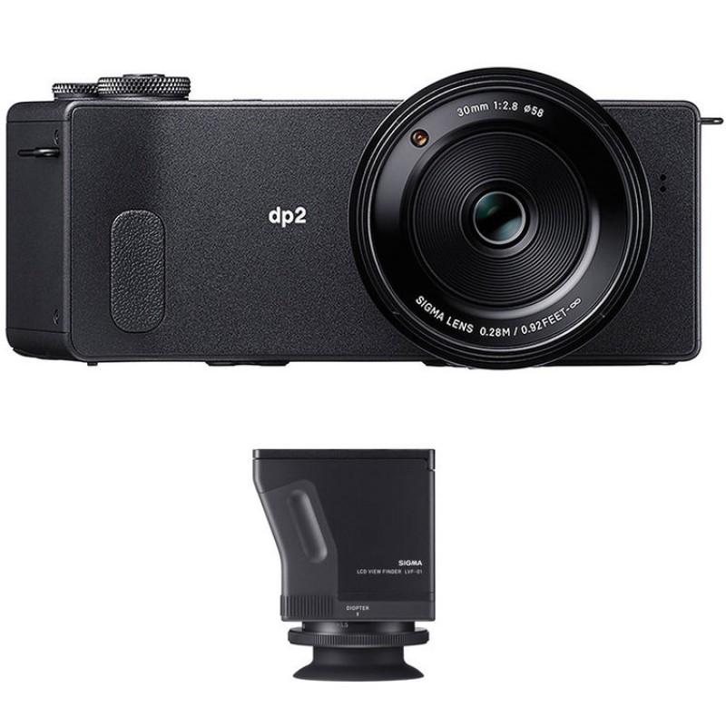 SIGMA dp2 Quattro fotoaparat 30mm + LCD View Finder KIT (standard)