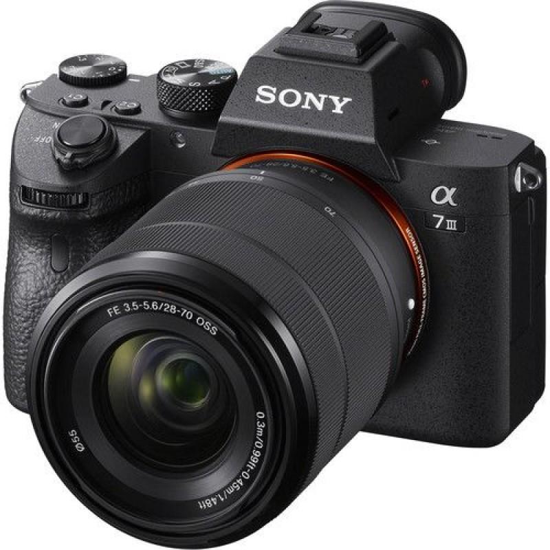 Sony a7 III + 28-70mm objektiv F/3.5-5.6