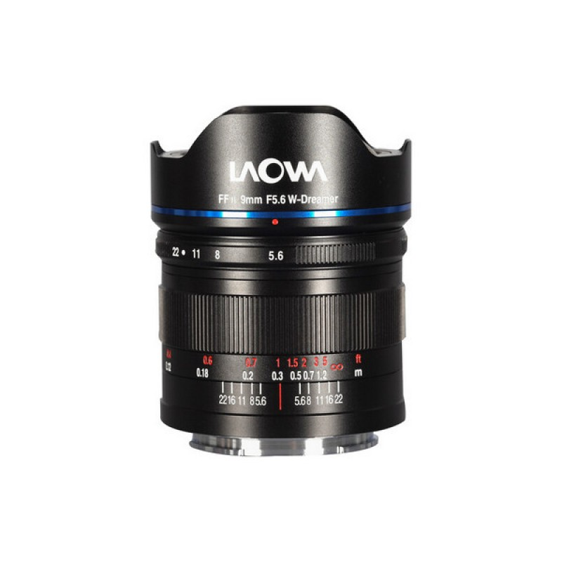 Laowa   9mm f/5.6 FF RL /Sony E mount + 100mm Mag.FilterSet