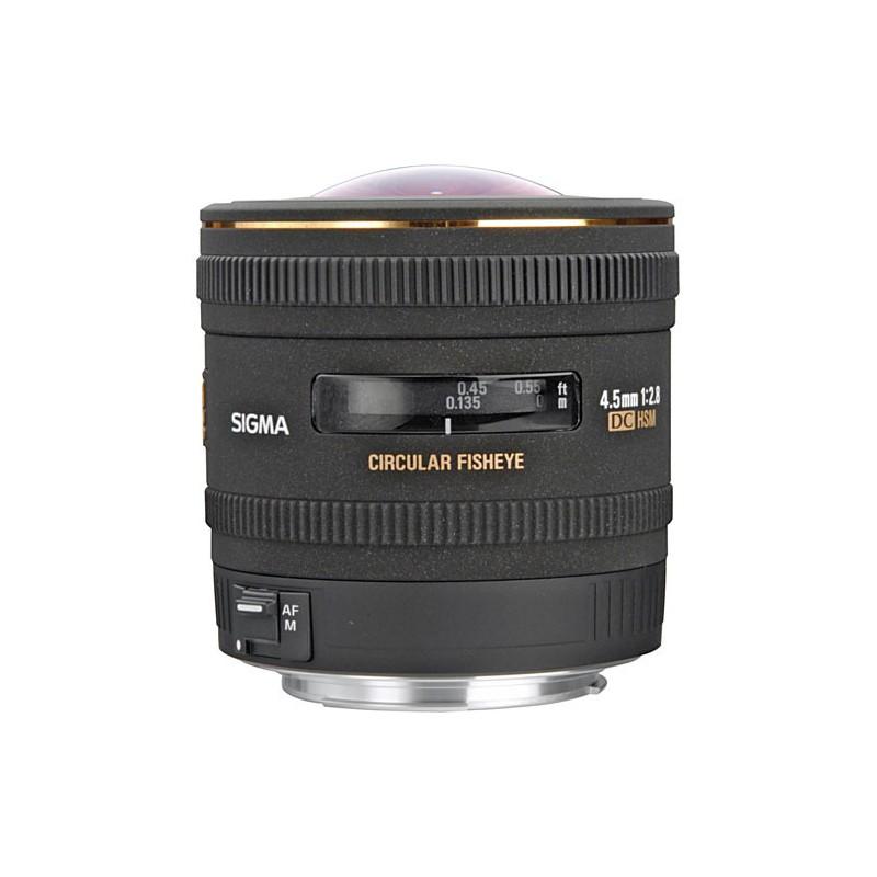 Sigma objektiv  4,5mm F2,8 EX DC HSM Cirkular Fisheye (Canon)