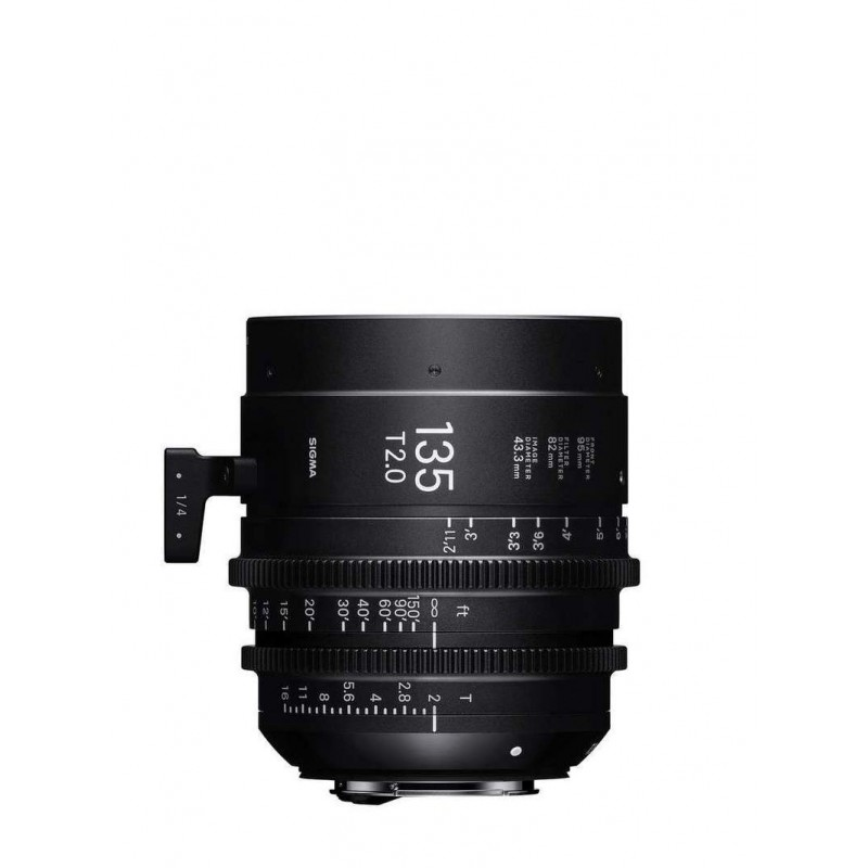 Sigma Cine 135mm T2 FF EF-mount (metric)