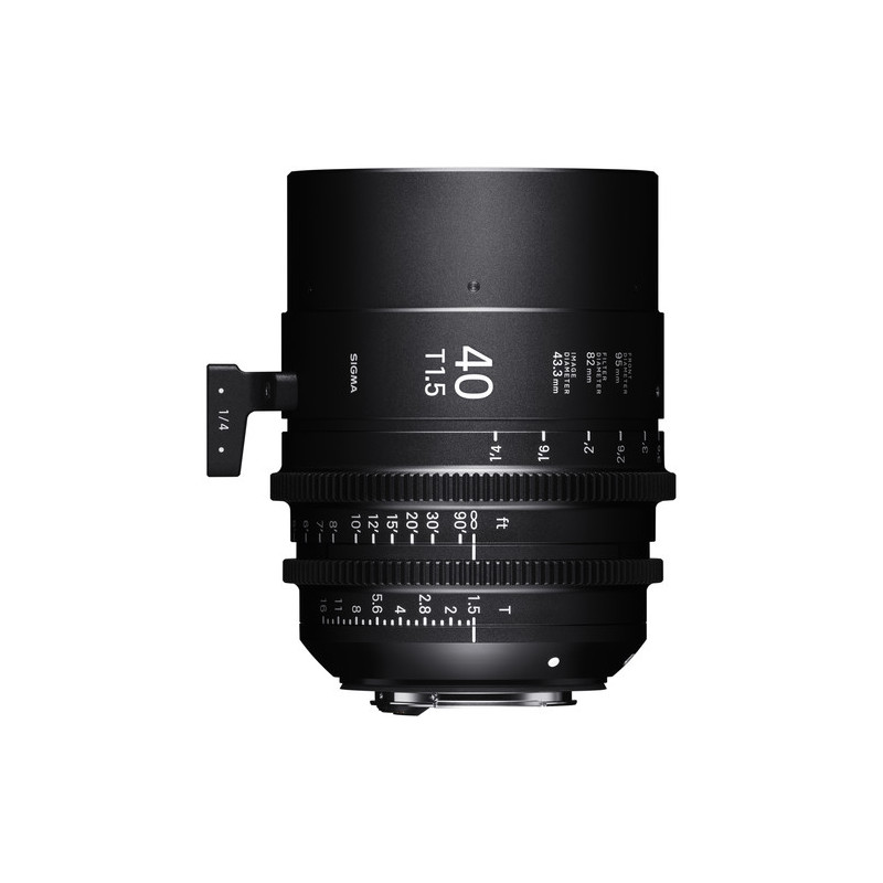 Sigma Cine 40mm T1.5 FF E-mount (metric)
