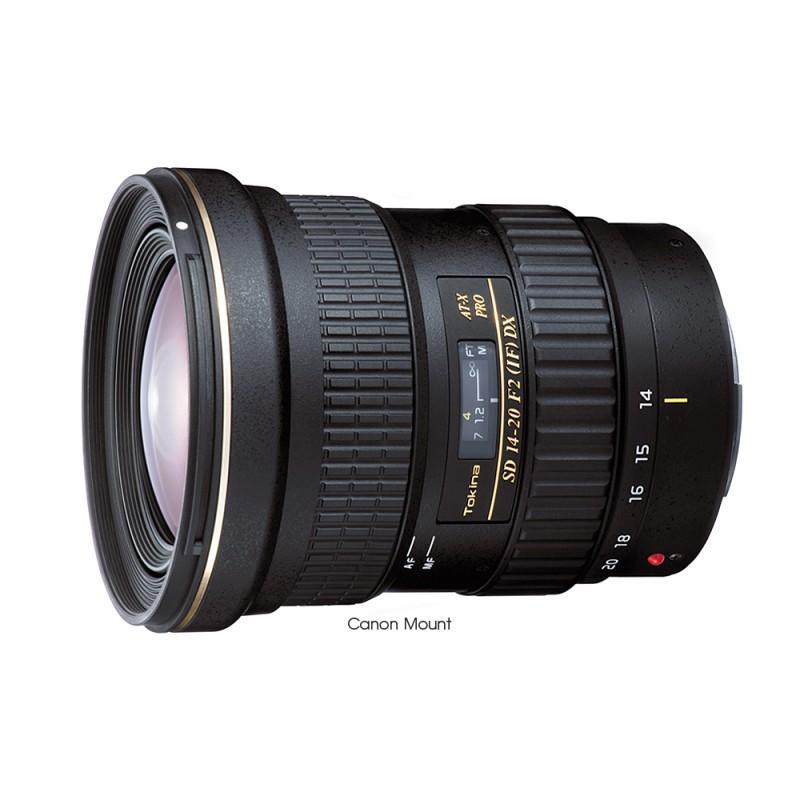 Tokina ATX  14-20mm F2.0 PRO DX Canon/AF