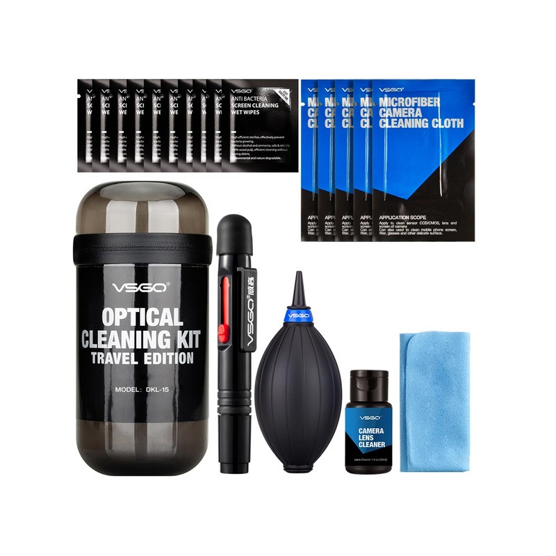 VSGO 6-in-1 Optical Cleaning Kit Travel Edition