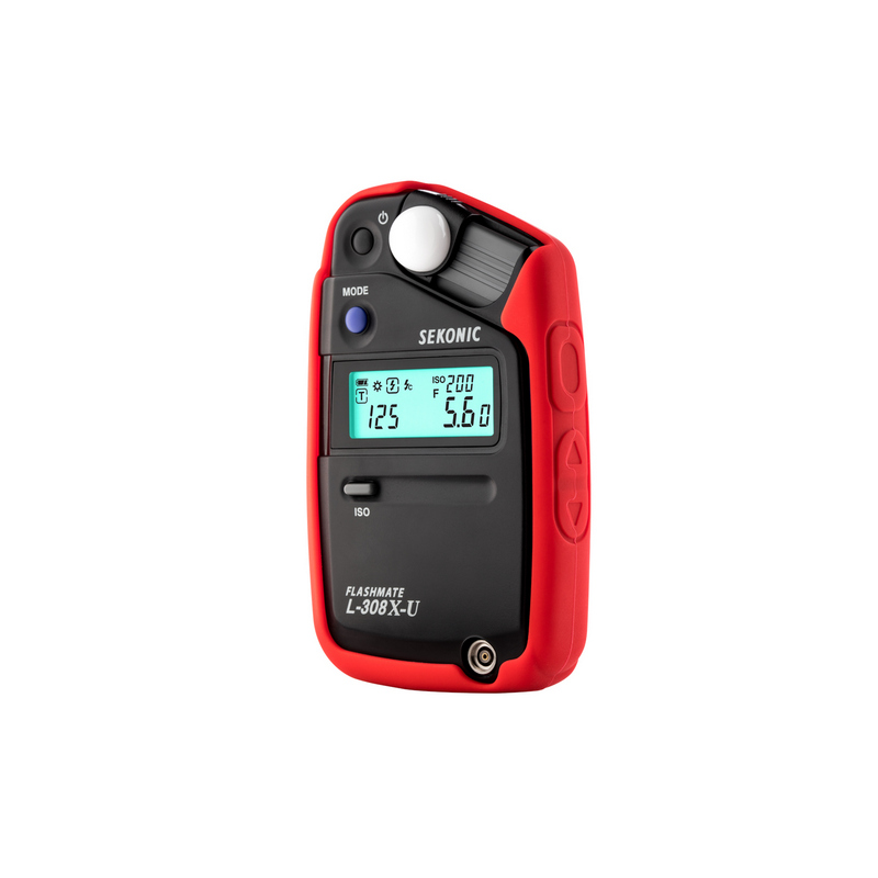 Sekonic Red Color Grip For L-308X