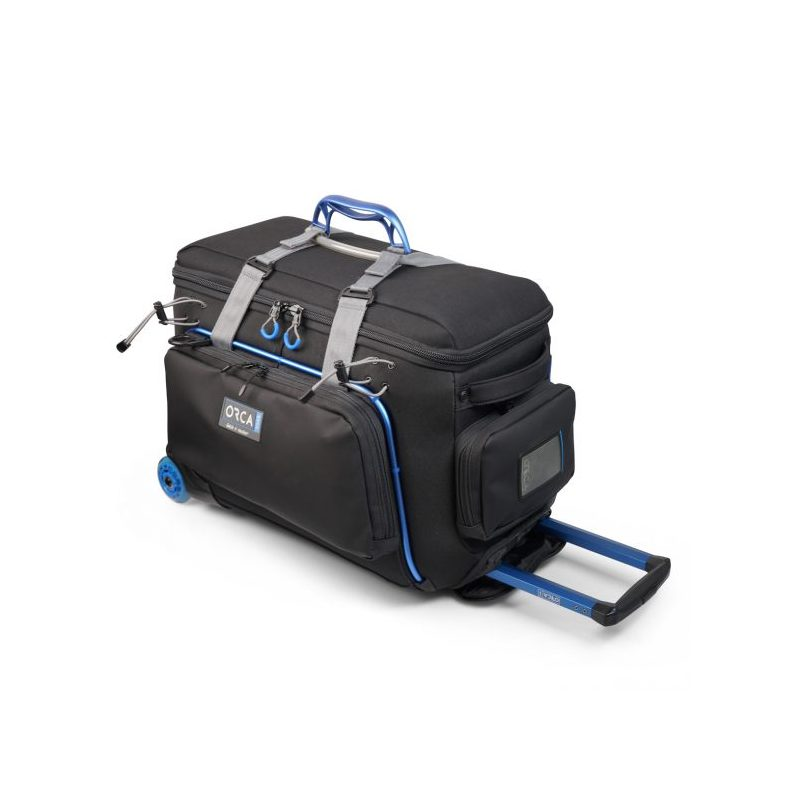 Orca OR-10 Camera Trolley Bag with large external pockets, video torba