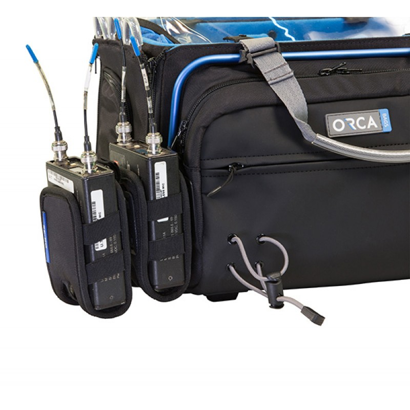 Orca OR-39 DOUBLE wireless receiver pouches
