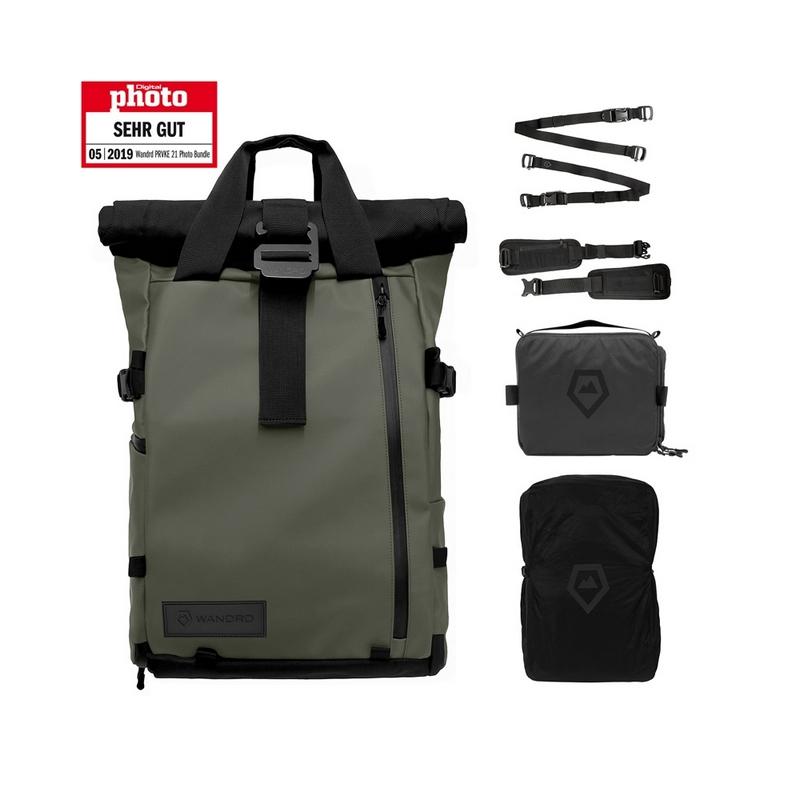 Wandrd PRVKE 21 ruksak / Photo bundle (zeleni)