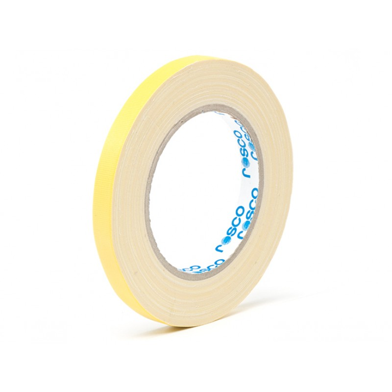 Rosco GaffTac™ - Spike Tape - Yellow 12mm x 25m